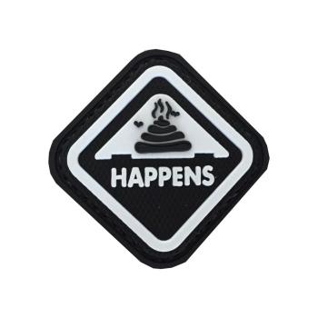 """PVC patch """"Happens"""""""