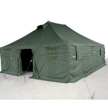 Velký vojenský stan, 30 m2, olivový, Mil-Tec