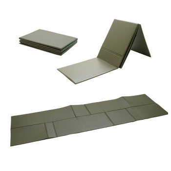 Foldable Bundeswehr Sleeping Pad, OD Green, MFH