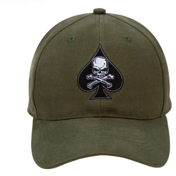 Deluxe Low Profile Death Spade Cap, olive, Rothco