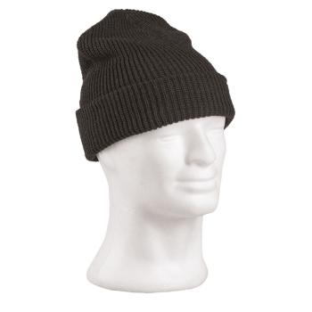 Zimní pletená čepice, černá, Mil-Tec