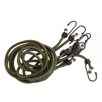 Bungee cords, olive, 4 pcs, BCB