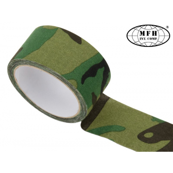 Fabric tape, Woodland, MFH