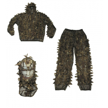 Maskovací oblek hejkal, Leaves, hunters brown