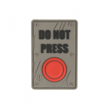Do Not Press Morale Patch, Maxpedition