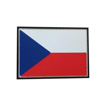 PVC nášivka Česká republika, vlajka