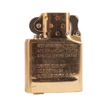 Bronzový náhradní vnitřek zapalovače Zippo