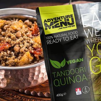 Tandoori Quinoa, vegan, Adventure Menu