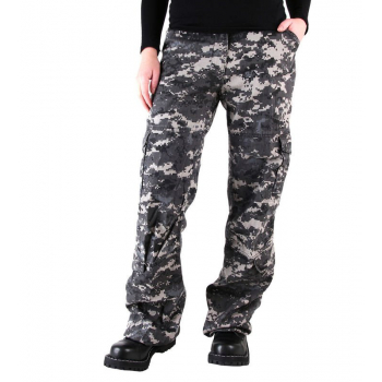 Womens Camo Vintage Paratrooper Fatigue Pants, Rothco
