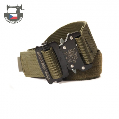 M2 belt with speed buckle, green, M