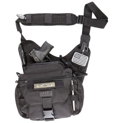 Taktická taška přes rameno Push Pack, 6 L, 5.11, černá