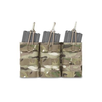 Trojitá sumka na 3 zásobníky AR15, otevřená, Warrior, Multicam, AR15