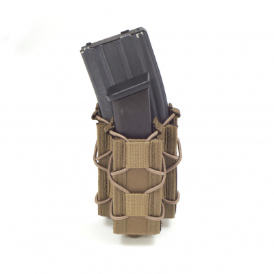 Single Quick Mag with Single Pistol Pouch, Warrior, Coyote