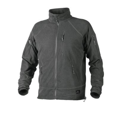 Alpha Tactical Jacket - Grid Fleece, Helikon, Shadow Grey, 2XL