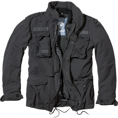 Men's jacket M-65 Giant, Brandit, Black, XL