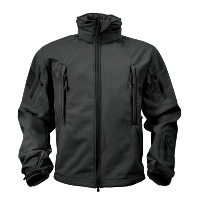 Softshell bunda Rothco Special Ops, černá, XL