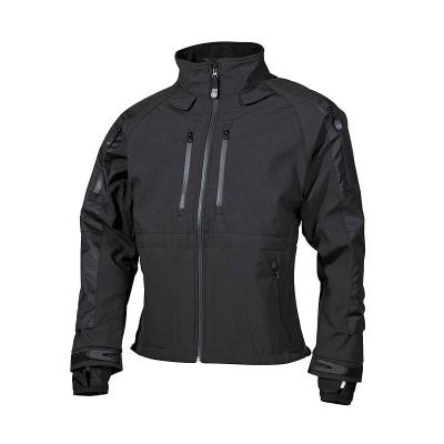Softshellová bunda Protect, černá