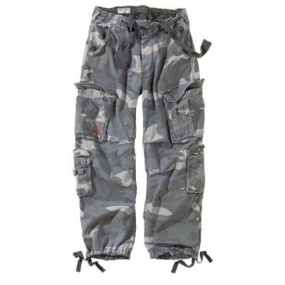 Trousers Airborne Vintage, Surplus, Nightcamo, XL