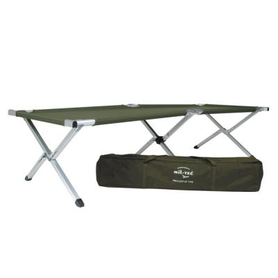 Field cot, aluminium frame, U.S. Army type, Olive, Mil-Tec