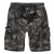 Men's Ty Shorts, Brandit, Darkcamo, M