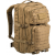 U.S. Backpack Assault Laser cut, large, 36 L, Mil-tec, Coyote