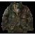 Pánská bunda Brandit M-65 Giant, Ripstop, woodland, 3XL