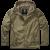 Windbreaker Jacket Brandit Frontzip, Ripstop, olive, 3XL