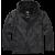 Windbreaker Jacket Brandit Frontzip, Ripstop, black, 3XL