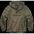 Summer Windbreaker Jacket Brandit, Ripstop, olive, 3XL