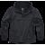 Summer Windbreaker Jacket Brandit, Ripstop, black, 3XL