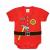 Dětské body Rothco Infant Fireman, červené
