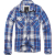 Men's shirt Check Shirt, Brandit, Blue / White, S