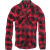 Men's shirt Check Shirt, Brandit, Black / Red, M
