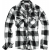 Men's shirt Check Shirt, Brandit, White / Black, M