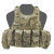 Ricas Compact Elite Ops Plate Carrier, Warrior, Multicam, AR15