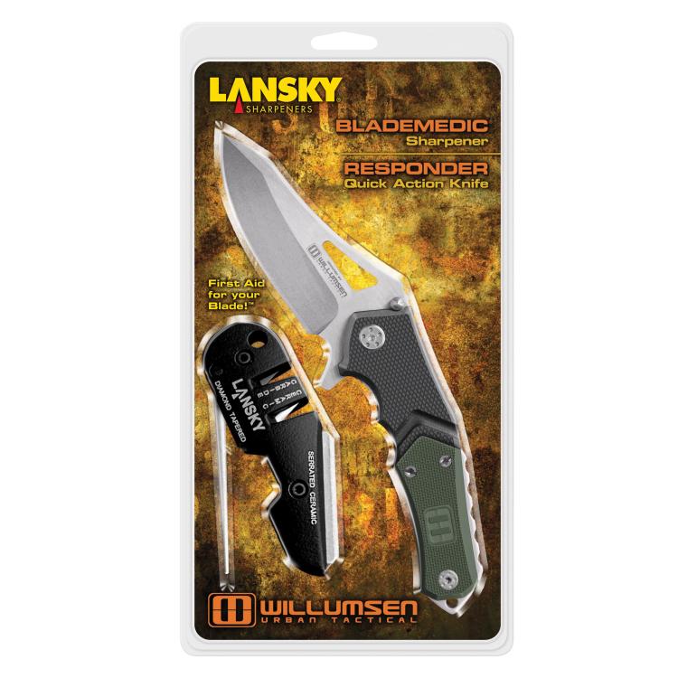 Responder Knife / Blademedic® Sharpener Combo, Lansky