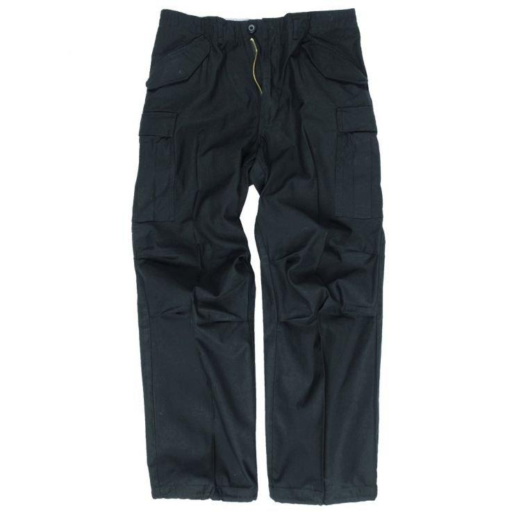 M65 Teesar Pants, Black, Mil-Tec