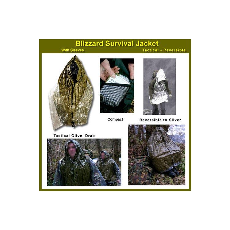 Bunda Solkoa Blizzard Survival Jacket - Tactical
