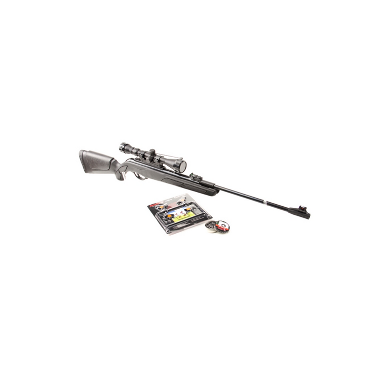 Vzduchovka Gamo SHADOW Pack DX 16 J + puškohled 4x32WR, diabolky