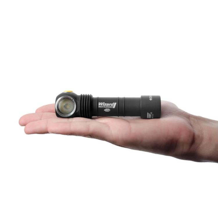 Multifunkční svítilna Wizard WR Magnet USB, teplé bílé-červené světlo, Armytek