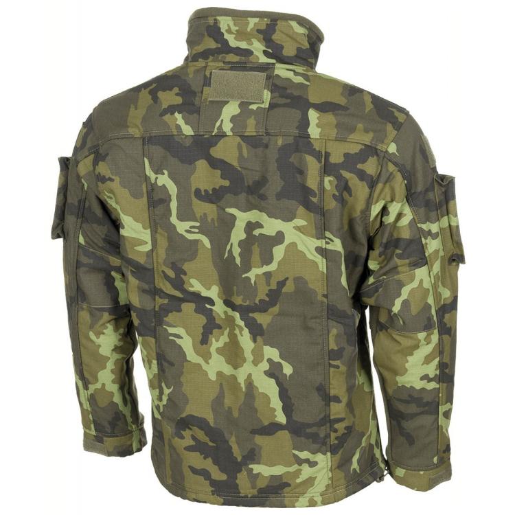 Fleecová taktická bunda COMBAT AČR, vz.95 Les, MFH