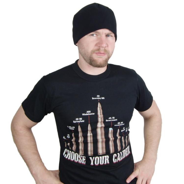 Vintage 'Choose Your Caliber' T-Shirt, Rothco
