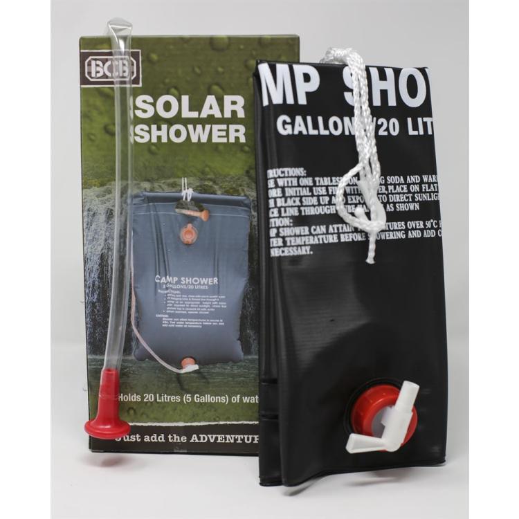 Solar Shower, BCB