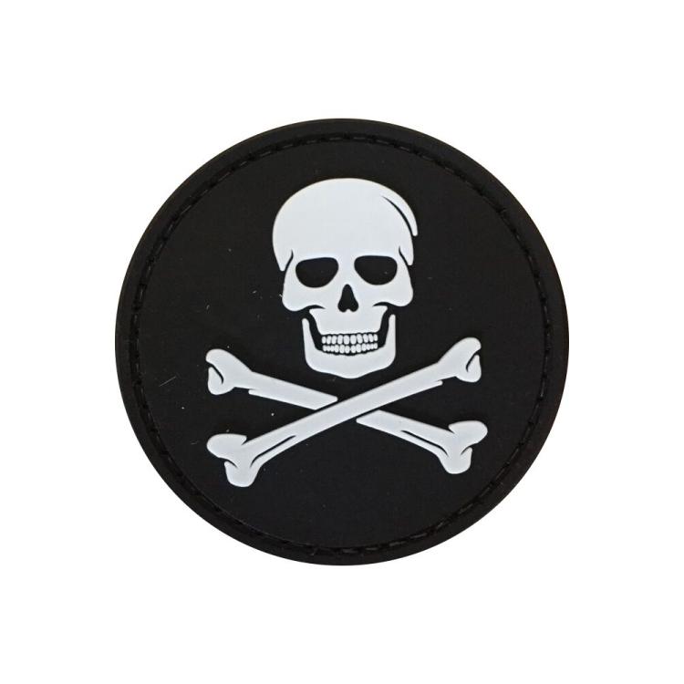 """PVC patch """"Jolly Roger"""""""