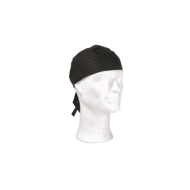 Headwrap black, Mil-Tec