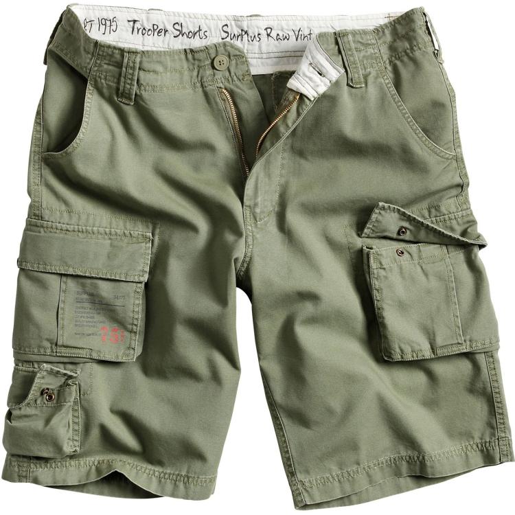 Trooper Shorts, Surplus