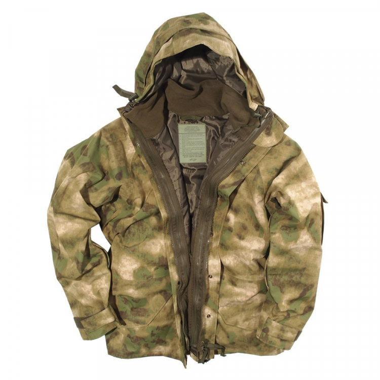 Waterproof functional jacket ECWCS, Mil-Tec