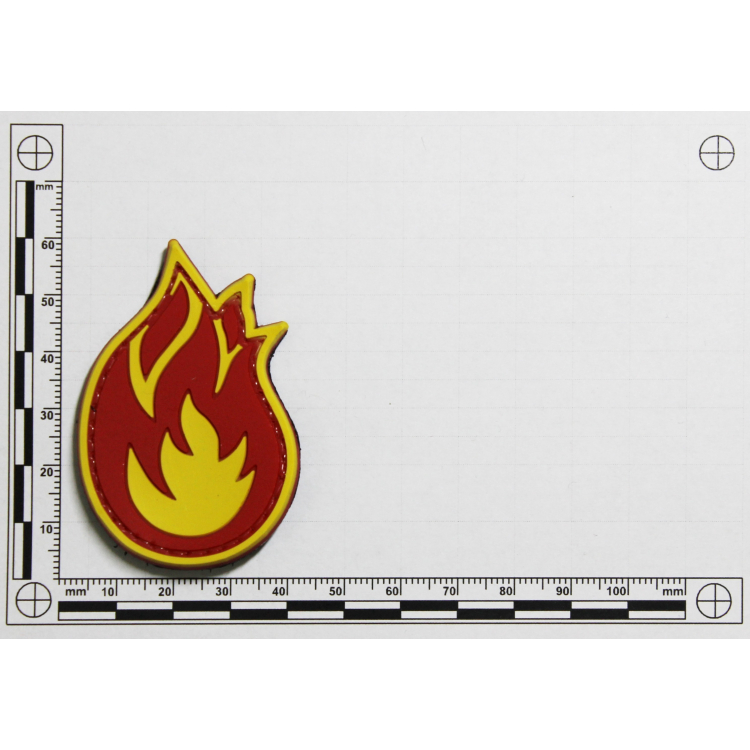 "PVC patch ""Fireball"""