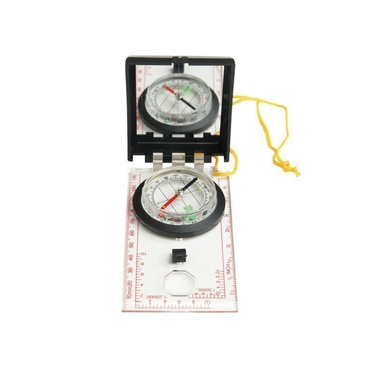 Compass with a mirror and cover, Mil-Tec