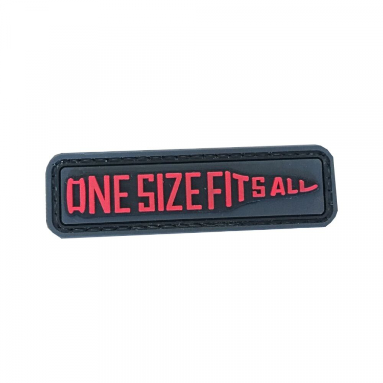 "PVC patch ""One Size Fits All"""